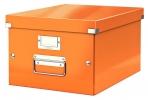 ,<b>Opbergbox Leitz Click & Store 265x188x335mm oranje</b>