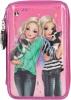 ,<b>Topmodel 3-vaks etui, gevuld friends roze</b>