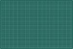 ,<b>Snijmat rillstab 600x900mm a1 3-laags groen</b>