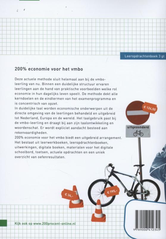 Ilse Ouwens, Paul Scholte,200 procent Voor het vmbo 3 gt Leeropdrachtenboek