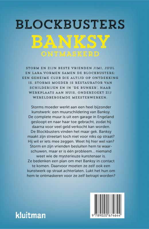 Manon Berns,Banksy ontmaskerd