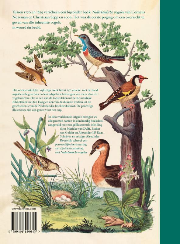 Cornelis Nozeman, Christiaan Sepp,Nederlandsche vogelen. 1770-1829
