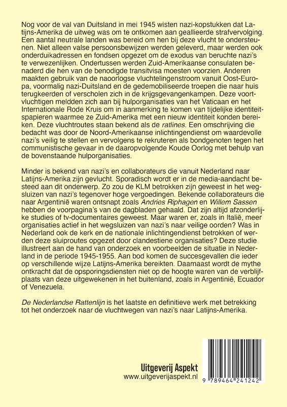 Jochem Botman,De Nederlandse Rattenlijn