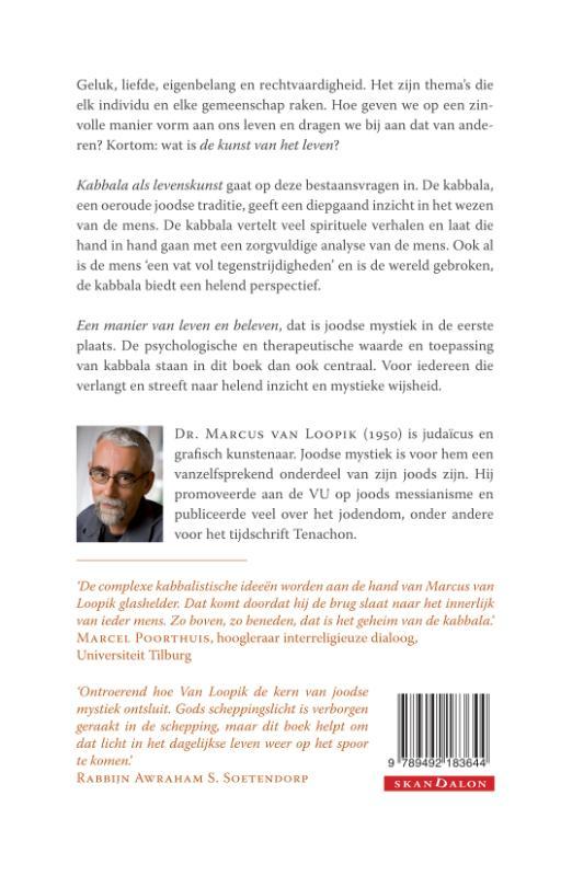 Marcus van Loopik,Kabbala als levenskunst