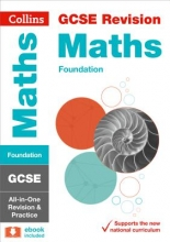 Collins GCSE GCSE 9-1 Maths Foundation All-in-One Revision and Practice