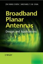 Chen, Zhi Ning Broadband Planar Antennas