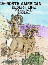 Ruth Soffer North American Desert Life Coloring Book
