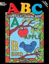Freddie Levin ABC Stained Glass Coloring Book