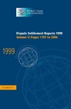 Dispute Settlement Reports 1999