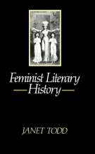 Todd, Janet Feminist Literary History