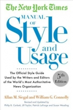 Allan M. Siegal,   William G. Connolly The New York Times Manual Of Style And Usage 2015 Edition