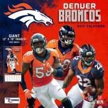 Denver Broncos 2017 Calendar