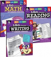 Teacher Created Materials 180 Days of Reading, Writing and Math for Fifth Grade