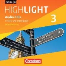 ,English G Highlight 03: 7. Schuljahr. Audio-CDs. Hauptschule (Vollfassung)