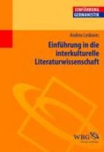 Leskovec, Andrea Einführung in die interkulturelle Literaturwissenschaft