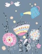 Floral Design Blankbook