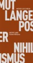 Lange, Hartmut Positiver Nihilismus