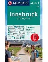 KOMPASS-Karten GmbH , KOMPASS Wanderkarte Innsbruck und Umgebung