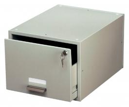 , Kaartenbak Durable metaal A5 207x260x420mm lichtgrijs