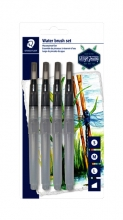 , Waterbrushstift  Staedtler set à 4 breedtes