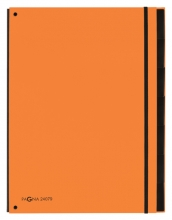 , Sorteermap Pagna Trend 7 tabs A4 oranje