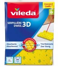 , Dweil Vileda 3D geel 2 stuks