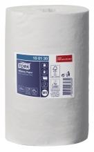 , Poetsrol Tork M1 100130 Advanced 1laags 21.5x120m 11rollen wit
