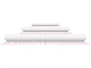 , Kaftplastic Boeklon 50cmx2,5m zelfklevend transparant