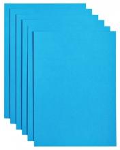 , Kopieerpapier Papicolor A4 200gr 6vel hemelsblauw
