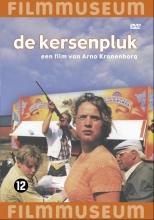 De Kersenpluk is de verassende debuutfilm van Arno Kranenborg (1959). In de jaren zeventig logeert de dertienjarige Jan bij zijn opa op het Drentse platteland. Terwijl opa afscheid van het leven neemt, ontdekt Jan de liefde.