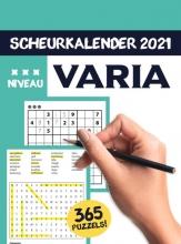 , Varia Puzzel scheurkalender 2021