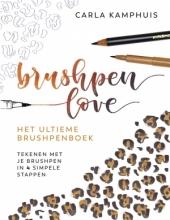 Carla  Kamphuis Het ultieme brushpenboek