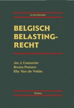 Elly van de Velde Jos J. Couturier  Bruno Peeters, Belgisch belastingrecht (in hoofdlijnen).