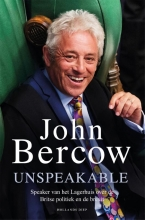 John Bercow , Unspeakable