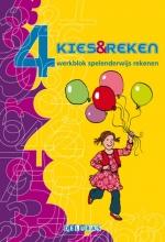 Marja Mulder , Kies & reken 4 Spelenderwijs rekenen werkblok