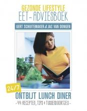 Jac van Dongen Gert Schuitemaker, Gezonde lifestyle eet-adviesboek