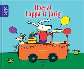 Mirjam  Visker LAPPA® Kinderboeken Hoera! Lappa is jarig