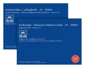 O.H.M. Sanders Wiskunde - rekenen oefenen boeken Set 2F - 2014/2015 - VMBO - Versie 1.0 - Verplichte rekentoets