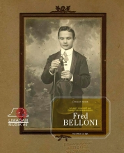 Henk Mak van Dijk , Fred Belloni, Violinist, Composer and Conductor from Bandung