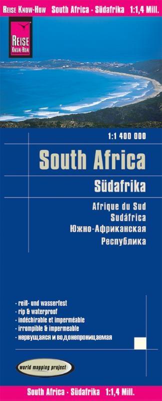,Reise Know-How Landkarte Südafrika (1:1.400.000)