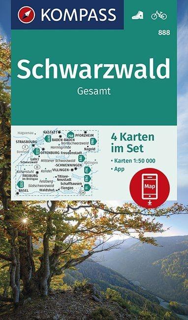 ,Schwarzwald Gesamt 1:50 000