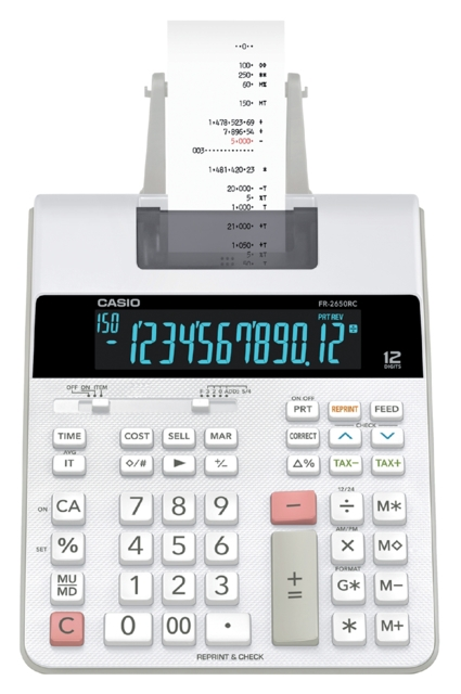 ,Rekenmachine Casio FR-2650RC