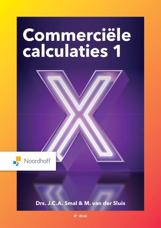 John Smal, Martin van der Sluis,Commerciële calculaties 1