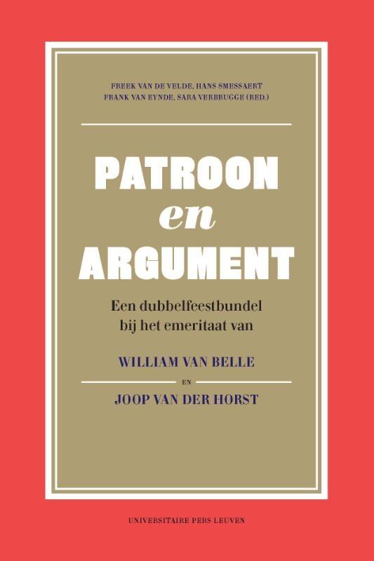 ,Patroon en argument