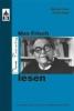 Gans, Michael,Max Frisch lesen
