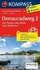 ,<b>Kompass FTK7004 Donauradweg 2, Von Passau �ber Wien nach Bratislava</b>