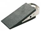 ,<b>deurstopper Alco wigvorm zwart rubber, 160 gram</b>