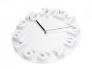 ,wandklok TIQ diameter 340 mm 3D kunststof wit
