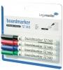 ,Viltstift Legamaster TZ140 whiteboard rond assorti 1mm 4st