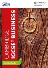 Letts Cambridge IGCSE Cambridge IGCSE (TM) Business Studies Revision Guide